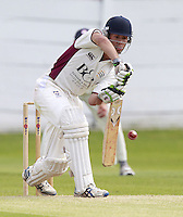 Connor Nurse bats for North Middlesex during the ECB Middlesex Premier League game between North Middlesex and Brondesbury at Park Road, Crouch End on Sat June 21, 2014.