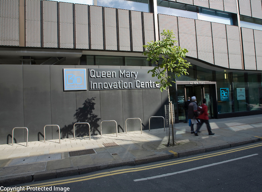Queen Mary Innovation Centre building, 42 New Road, Whitechapel, London, England