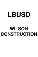 LBUSD Wilson construction