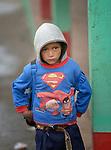 Jose Antonio Perez is a 7-year old boy in San Jose la Frontera, a small Mam-speaking Maya village in Comitancillo, Guatemala.