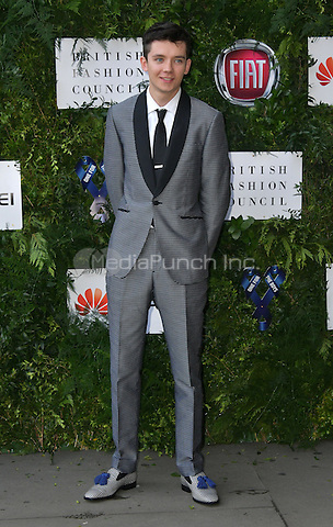 Asa Butterfield at Charity ball in aid of One For The Boys, a charity raising awareness of male forms of cancer, encouraging men to get checked regularly. Evening celebrates the launch of the 2016 campaign film The Difference, at Victoria and Albert Museum, London, England June 12, 2016.<br /> CAP/JOR<br /> &copy;JOR/Capital Pictures /MediaPunch ***NORTH AND SOUTH AMERICAS ONLY***