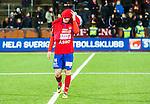 S&ouml;dert&auml;lje 2014-11-09 Fotboll Kval till Superettan Assyriska FF - &Ouml;rgryte IS :  <br /> &Ouml;rgrytes Sebastian Ohlsson deppar efter matchen mellan Assyriska FF och &Ouml;rgryte IS <br /> (Foto: Kenta J&ouml;nsson) Nyckelord:  S&ouml;dert&auml;lje Fotbollsarena Kval Superettan Assyriska AFF &Ouml;rgryte &Ouml;IS depp besviken besvikelse sorg ledsen deppig nedst&auml;md uppgiven sad disappointment disappointed dejected