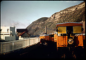 RMRRC excursion of 5-30-66? Durango to Chama. RMRRC drumhead.<br /> D&amp;RGW  Durango, CO  5/30/1966