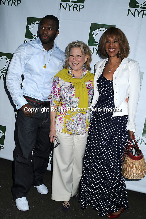 Curtis 50 Cent Jackson, Bette Midler and Gayle King
