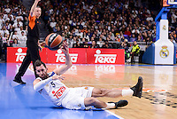 Real Madrid's Rudy Fernandez during Turkish Airlines Euroleague match between Real Madrid and CSKA Moscow at Wizink Center in Madrid, Spain. January 06, 2017. (ALTERPHOTOS/BorjaB.Hojas)