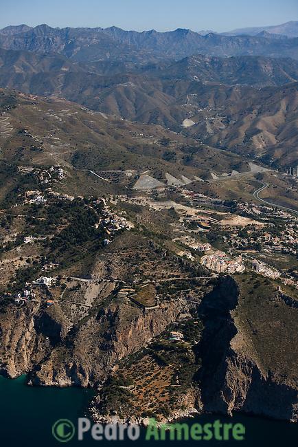 PEÑON DEL LOBO-ALMUÑECAR-GRANADA-ANDALUCIA. 2008-04-05. (C) Pedro ARMESTRE