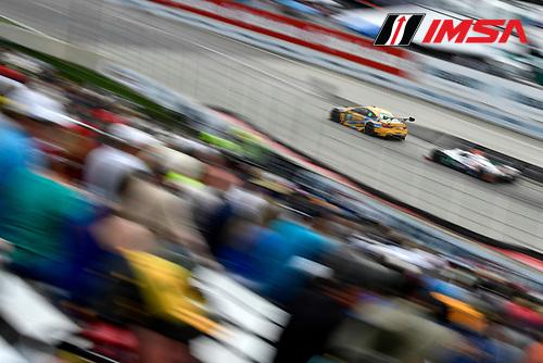 3-4 June, 2016, Detroit, Michigan USA<br /> 97, BMW, M6 GT3, GTD, Michael Marsal, Markus Palttala<br /> &copy;2016, Scott R LePage <br /> LAT Photo USA