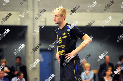 2014-08-30 / Volleybal / seizoen 2014-2015 / Amigos Zoersel / Jeroen Oprins<br /><br />Foto: Mpics.be