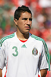 02 July 2007: Mexico's Efrain Juarez. At the National Soccer Stadium, also known as BMO Field, in Toronto, Ontario, Canada. Mexico's Under-20 Men's National Team defeated Gambia's Under-20 Men's National Team 3-0 in a Group C opening round match during the FIFA U-20 World Cup Canada 2007 tournament.