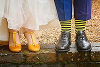 Bumble Bee Wedding Shoes and Socks
