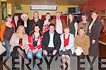 PANTO: The Castlegregory Panto Group held their after panto party at Kirby's Brogue Inn, Tralee, on Friday night. Front l-r: Marie Baker, Maura Moriarty, Mike Cahillane, Hilda Whelan and Marian Cooper. Back l-r: Marie Fry, Kathleen Egan, Nicholette Moore, Pat Whelan, Mary Caepierski, Shay McDonagh, Pat Goodwin, Bernie Maunsell and Gert Spillane..