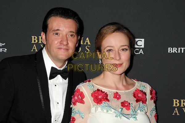 9 November 2013 - Beverly Hills, California - Michael Ryan, Jennifer Ehle. BAFTA LA 2013 Jaguar Britannia Awards held at the Beverly Hilton Hotel.  <br /> CAP/ADM/BP<br /> &copy;Byron Purvis/AdMedia/Capital Pictures