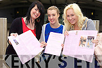 Kerina O'Carroll, Sarah Curtin and Theresa Cosgrove Mercy Mounthawk Leaving Certificate