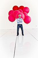 Sandy Pentland pictures: Executive portrait photography of Professor Alex Sandy Pentland of MIT by San Francisco corporate photographer Eric Millette