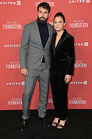 Tatiana Maslany &amp; Tom Cullen at the SAG-AFTRA Foundation's Patron of the Artists Awards at the Wallis Annenberg Center for the Performing Arts. Beverly Hills, USA 09 November  2017<br /> Picture: Paul Smith/Featureflash/SilverHub 0208 004 5359 sales@silverhubmedia.com