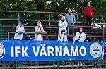 Uppsala 2014-06-26 Fotboll Superettan IK Sirius - IFK V&auml;rnamo :  <br /> V&auml;rnamos supportrar ser nedst&auml;mda ut i slutet av matchen <br /> (Foto: Kenta J&ouml;nsson) Nyckelord:  Superettan Sirius IKS Studenternas IFK V&auml;rnamo supporter fans publik supporters depp besviken besvikelse sorg ledsen deppig nedst&auml;md uppgiven sad disappointment disappointed dejected