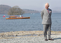 Prince Charles at the Opening of the Windermere Jetty Museum of Boats