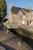 Europe/France/Normandie/Basse-Normandie/50/Manche/Genêts: Le Port et La Lerre (rivière)  // France, Manche, Genets:   home port