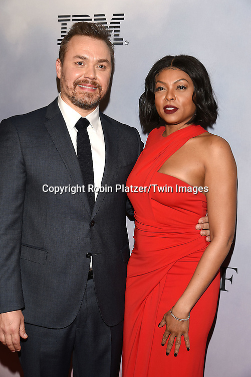 Director Theodore Melfi and Taraji P Henson attends &quot;Hidden Figures&quot; Special Screening on December 10, 2016 at SVA Theatre in New York, New York, USA.<br /> <br /> photo by Robin Platzer/Twin Images<br />  <br /> phone number 212-935-0770