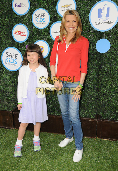 24 April 2016 - Culver City, California - Vanna White. Arrivals for Safe Kids Day held at Smashbox Studios. <br /> CAP/ADM/BT<br /> &copy;BT/ADM/Capital Pictures