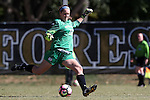 23 October 2016: Notre Dame's Kaela Little. The Wake Forest University Demon Deacons hosted the University of Notre Dame Fighting Irish at Spry Stadium in Winston-Salem, North Carolina in a 2016 NCAA Division I Women's Soccer match. Notre Dame won the game 1-0.