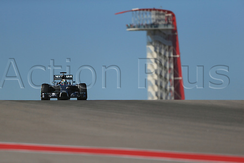 31.10.2014. Austin, Texas, USA. F1 Grand Prix of America, practise and inpsection day.  Mercedes AMG Petronas F1 team driver Lewis Hamilton during friday practice session