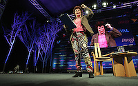 Pictured: Ruby Wax talking about her book Frazzled Monday 30 May 2016<br />