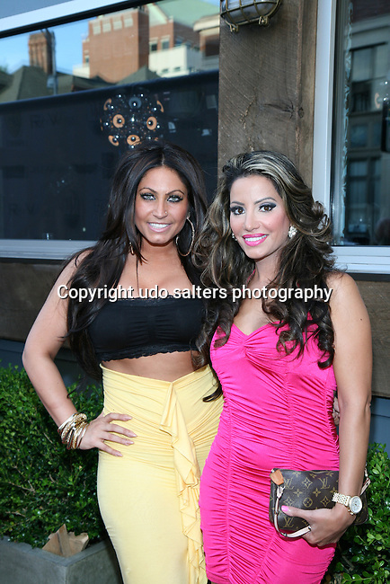 Jerseylicious' Tracy DiMarco and VH-1 Tough Love's Elizabeth Vashisht Attend Metropolitan Bikini Fashion Weekend 2013 Held at BOA Sponsored by Social Magazine, Maserati and Ferrari, Hoboken NJ