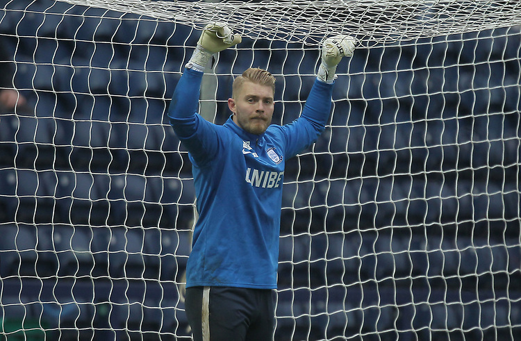 Preston North End's Connor Ripley<br /> <br /> Photographer Mick Walker/CameraSport<br /> <br /> The EFL Sky Bet Championship - Preston North End v Swansea City - Saturday 12th January 2019 - Deepdale Stadium - Preston<br /> <br /> World Copyright © 2019 CameraSport. All rights reserved. 43 Linden Ave. Countesthorpe. Leicester. England. LE8 5PG - Tel: +44 (0) 116 277 4147 - admin@camerasport.com - www.camerasport.com