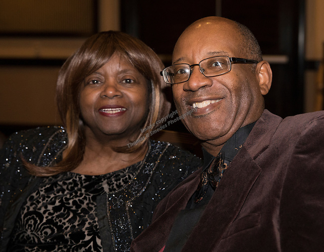 Rhogenia and Melvan Carter during the 29th Annual Dr. Martin Luther King, Jr. Dinner Celebration at the Atlantis Casino Resort Spa in Reno, Monday night, Jan. 16, 2017.