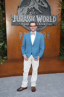 LOS ANGELES, CA - JUNE 12: Michael Giacchino, at Jurassic World: Fallen Kingdom Premiere at Walt Disney Concert Hall, Los Angeles Music Center in Los Angeles, California on June 12, 2018. Credit: Faye Sadou/MediaPunch