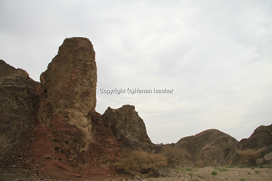 Israel, Nahal Tzfahot in Eilat Mountains