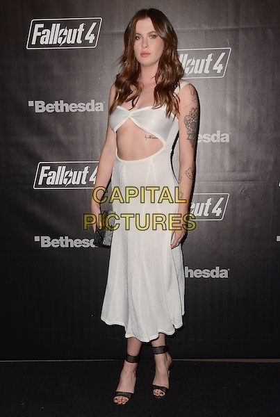 05 November - Los Angeles, Ca - Ireland Baldwin. Arrivals for the official launch party of the video game &quot;Fallout 4&quot; held at a private location in Downtown LA.  <br /> CAP/ADM/BT<br /> &copy;BT/ADM/Capital Pictures