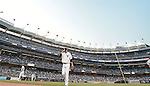 Masahiro Tanaka (Yankees), JUNE 9, 2015 - MLB : New York Yankees starting pitcher Masahiro Tanaka returns his side's bench during a baseball game against the Washington Nationals at Yankee Stadium in New York, United States. (Photo by AFLO)