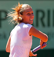 Dominika Cibulkova ..Tennis - Grand Slam - French Open- Roland Garros - Paris - Sat May 26th 2012..© AMN Images, 30, Cleveland Street, London, W1T 4JD.Tel - +44 20 7907 6387.mfrey@advantagemedianet.com.www.amnimages.photoshelter.com.www.advantagemedianet.com.www.tennishead.net