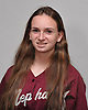 Stephanie Burns of Mepham poses for a portrait during the Newsday varsity softball season preview photo shoot at company headquarters on Friday, Mar. 18, 2016.