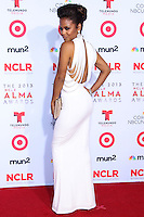 PASADENA, CA - SEPTEMBER 27: Actress/Singer Christina Milian arrives at the 2013 NCLR ALMA Awards held at Pasadena Civic Auditorium on September 27, 2013 in Pasadena, California. (Photo by Xavier Collin/Celebrity Monitor)
