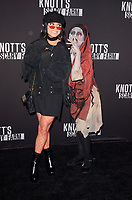 LOS ANGELES - SEP 29:  Vanessa Hudgens at the Knott's Scary Farm and Instagram Celebrity Night at the Knott's Berry Farm on September 29, 2017 in Buena Parks, CA