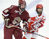 Brett Motherwell, Brad Zancanaro - The Boston College Eagles defeated the Boston University Terriers 5-0 on Saturday, March 25, 2006, in the Northeast Regional Final at the DCU Center in Worcester, MA.