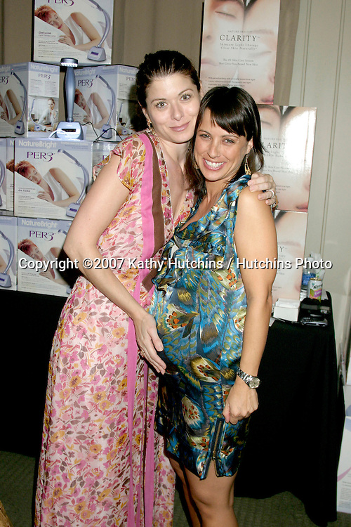 Debra Messing & Constance Zimmer.GBK Emmy Gifting Suite.Hollywood Roosevelt Hotel.Los Angeles,  CA.September 14, 2007.©2007 Kathy Hutchins / Hutchins Photo...