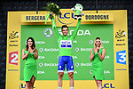 Marcel Kittel (GER) Quick-Step Floors wins Stage 10 and retains the Green Jersey of the 104th edition of the Tour de France 2017, running 178km from Perigueux to Bergerac, France. 11th July 2017.<br /> Picture: ASO/Alex Broadway | Cyclefile<br /> <br /> <br /> All photos usage must carry mandatory copyright credit (&copy; Cyclefile | ASO/Alex Broadway)
