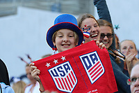 Seattle, WA - Thursday July 27, 2017: Fans during a 2017 Tournament of Nations match between the women's national teams of the United States (USA) and Australia (AUS) at CenturyLink Field.