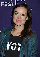 "Olivia Wilde attends "" The Rider and The Storm "" Movie Premiere - New York"