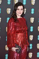 Georgie Henley<br /> arriving for the BAFTA Film Awards 2020 at the Royal Albert Hall, London.<br /> <br /> ©Ash Knotek  D3554 02/02/2020