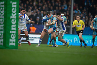Exeter Chiefs' Ian Whitten in action during todays match<br /> <br /> Photographer Bob Bradford/CameraSport<br /> <br /> European Rugby Heineken Champions Cup Pool 2 - Exeter Chiefs v Castres - Sunday 13th January 2019 - Sandy Park - Exeter<br /> <br /> World Copyright © 2019 CameraSport. All rights reserved. 43 Linden Ave. Countesthorpe. Leicester. England. LE8 5PG - Tel: +44 (0) 116 277 4147 - admin@camerasport.com - www.camerasport.com