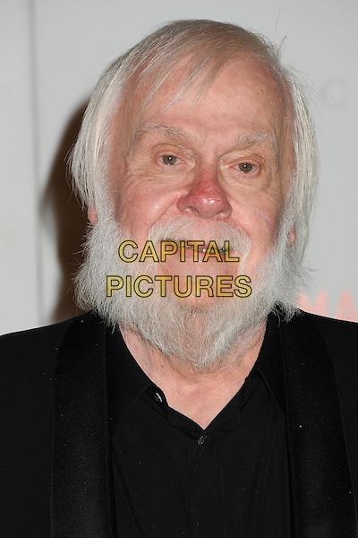 John Baldessari.The Inaugural Art and Film Gala held at LACMA in Los Angeles, California, USA..November 5th, 2011.headshot portrait black beard facial hair  .CAP/ADM/BP.©Byron Purvis/AdMedia/Capital Pictures.