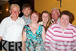 At Jimmy Deenihans victory celebrations in The Listowel Arms Hotel on Friday night were, front from left, Ena Kearney, Asdee, Jill McCarthy, Moyvane, and Ann Prendiville, Knockanure. Back from left, Par Kearney, Asdee, Finbar Prindiville, Knockanure, Oliver Kearney, Asdee, and Tom Roche, Moyvane..