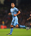 Sergio Aguero of Manchester City - Manchester City vs. Bayern Munich - UEFA Champion's League - Etihad Stadium - Manchester - 25/11/2014 Pic Philip Oldham/Sportimage