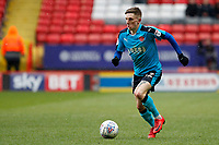 Ashley Hunter of Fleetwood Town in action Ashley Hunter of Fleetwood Town in action during the Sky Bet League 1 match between Charlton Athletic and Fleetwood Town at The Valley, London, England on 17 March 2018. Photo by Carlton Myrie.