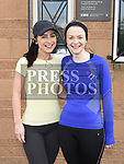 Ruth Meehan and Paula Nicholson who took part in the St. Colmcilles 10K run. Photo:Colin Bell/pressphotos.ie